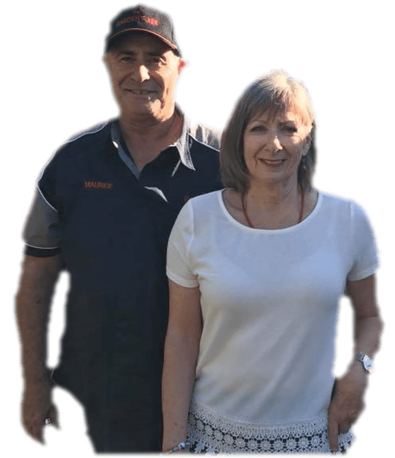 The Garden Fixer | Maurice and Gillian